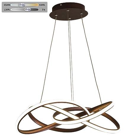 Lámpara de techo LED para salón, regulable, diseño en ...