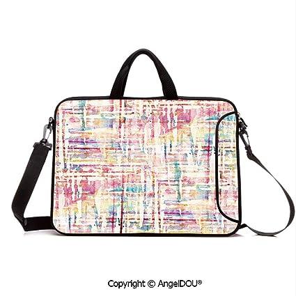 89f99cc610d6 Amazon.com: AngelDOU Neoprene Printed Fashion Laptop Bag Cool ...
