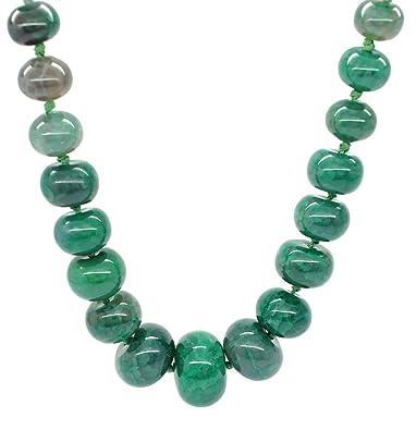 Natur Grun Achat Stein Halsband Halskette Stylish Jewellery Amazon