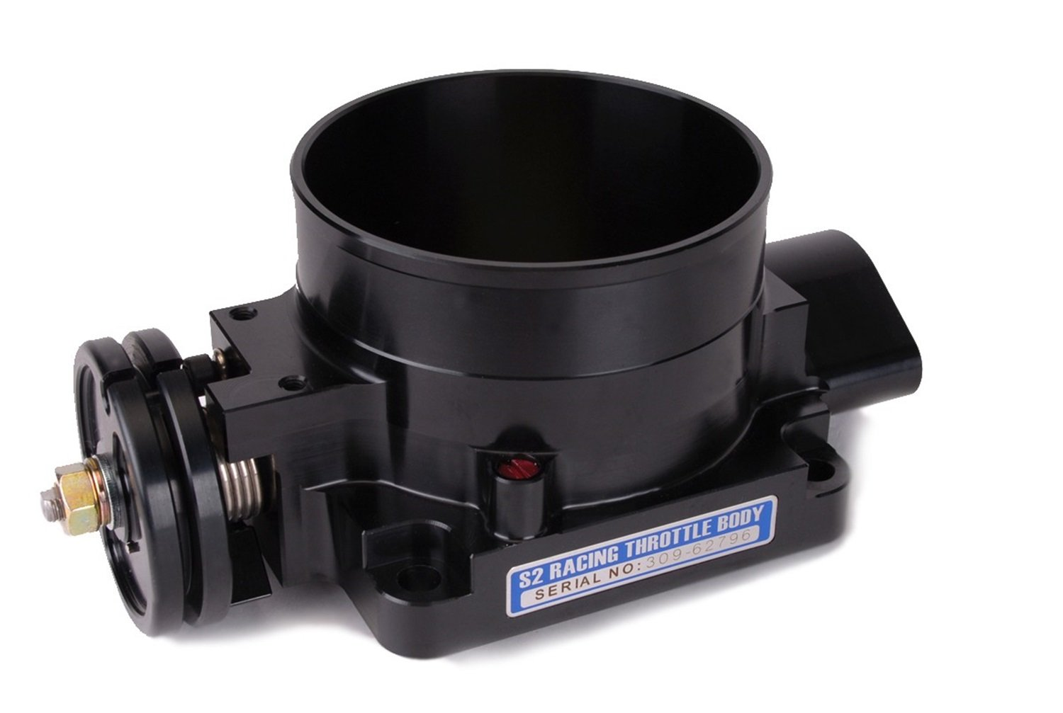 Skunk2 309-05-0905 Pro-Series Black Anodized 90mm Billet Throttle Body by Skunk2 Racing
