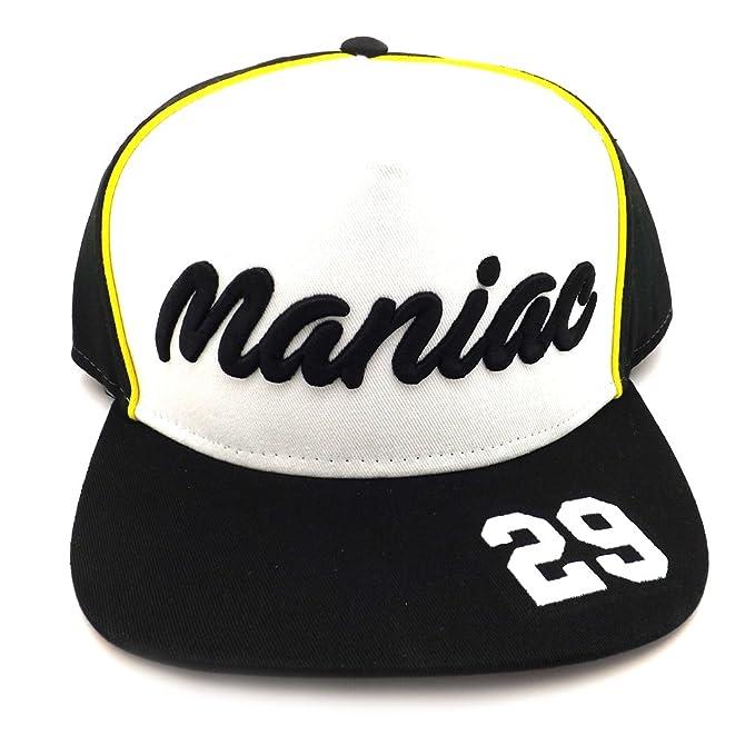 Andrea Iannone 29 Moto GP Gorra negro Oficial 2017: Amazon.es ...