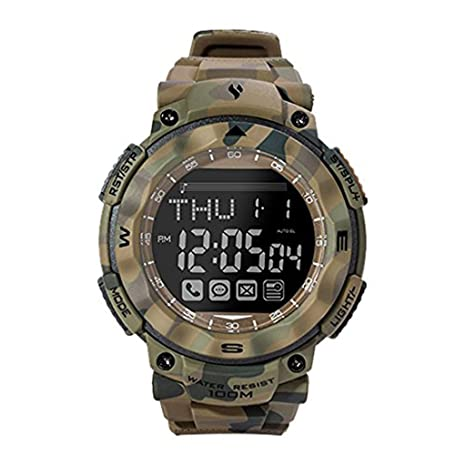 youngs Smart Watch RS1503 (Army Green Camouflage)
