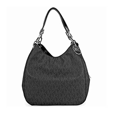 Michael Michael Kors Fulton Large Leather Shoulder Tote: Handbags ...