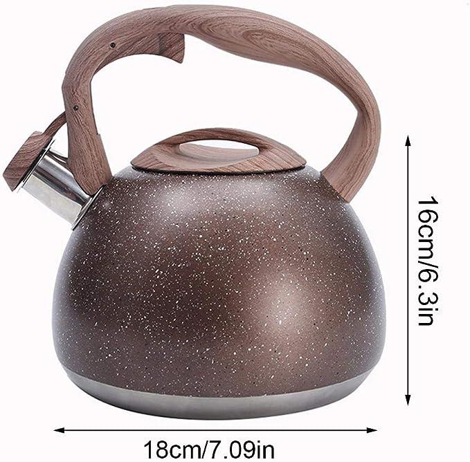 Bouilloire Kitchenaid Inox Sifflante 3L,Théière De Qualité