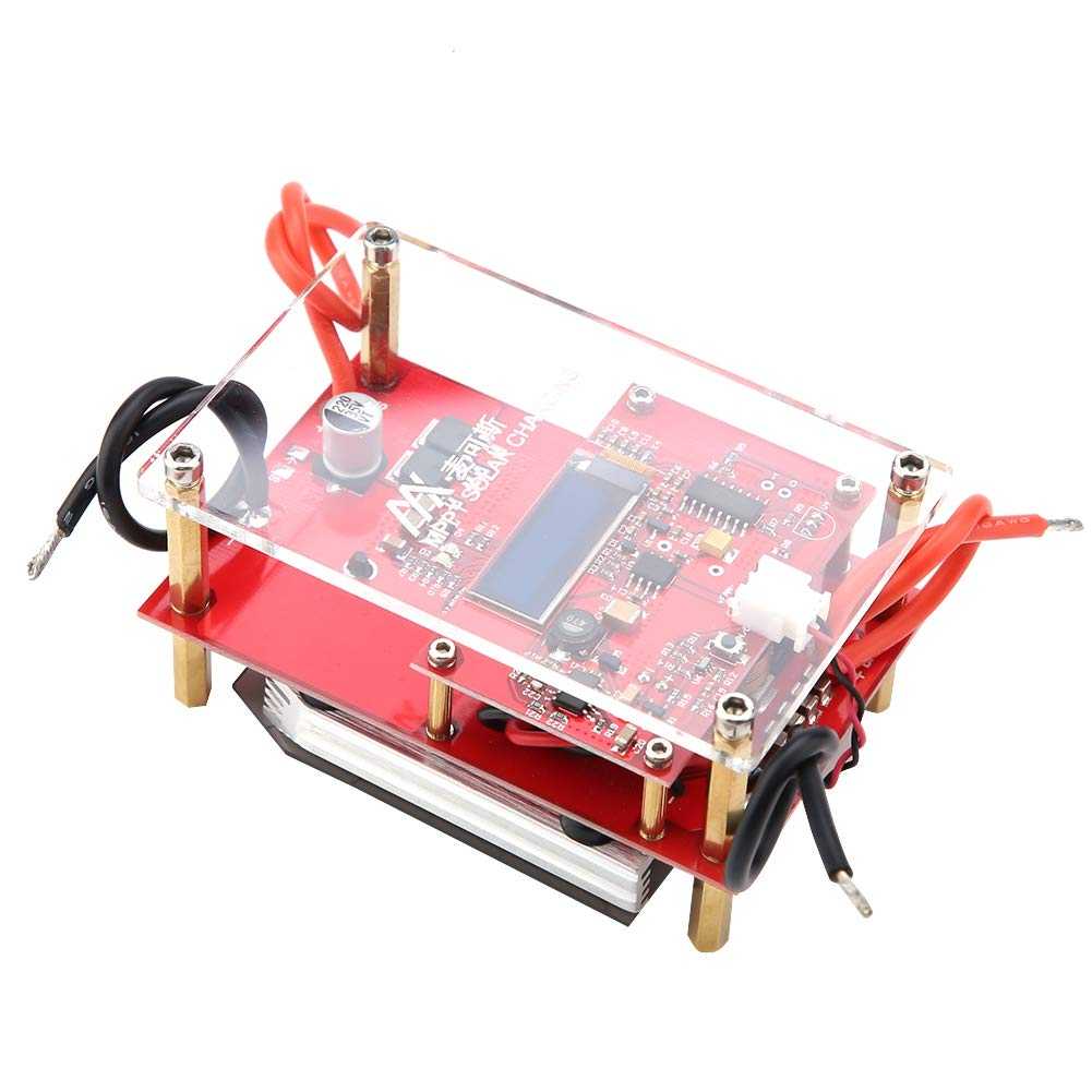 10A MPPT 3S/4S LiFePO4 Solar Panel Controller Lithium Battery Charging Board(3S Li-ion Battery)