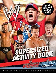 WWE Supersized Activity Book