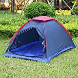 Two Person Outdoor Camping Tent Kit Fiberglass Pole - Best Reviews Guide