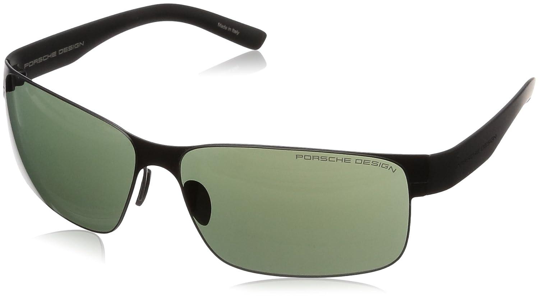 [ポルシェデザイン]PORSCHE DESIGN メガネ メンズ B00G8PSRR4  ブラック 日本 66 (FREE サイズ)