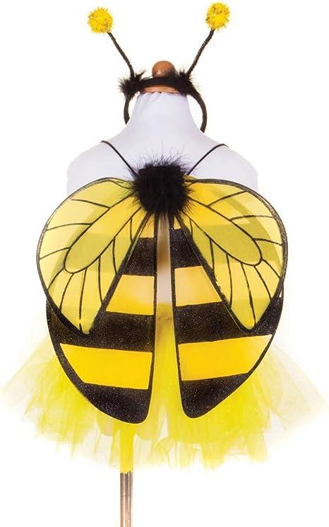 GREAT PRETENDERS - Disfraz de abeja con alas, falda y diadema (4-7 ...