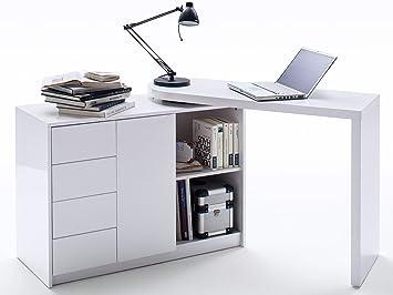 Schreibtisch Kinderschreibtisch Bürotisch Tisch Schwenkbar Blanco