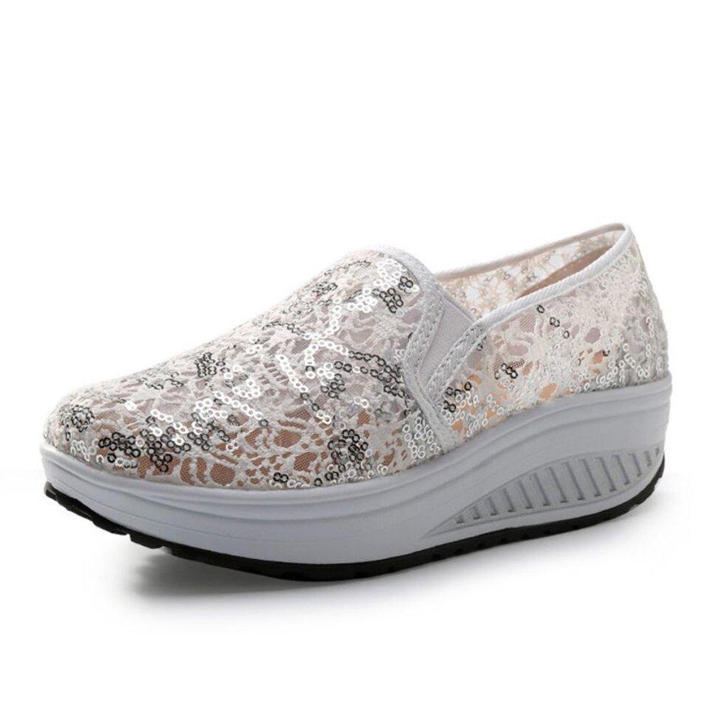 XUE Damenschuhe Mesh Frühling Herbst Loafers & Slip-Ons Slip-Ons Slip-Ons Fahr Schuhe Fitness Shake schuhe Shake Schuhe Shaking Schuhe Flache Loafers Turnschuhe Sportschuhe Plateauschuhe (Farbe   EIN Größe   39) f6fa05