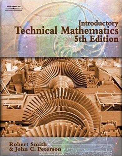 Introductory Technical Mathematics (Applied Mathematics): John ...