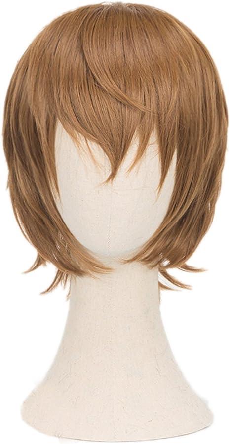 Parrucca per Capelli alla Moda per la Decorazione del Partito Regalo per i Fan di Anime per Il Costume Cosplay e luso Quotidiano Chutoral Anime Persona 5 Parrucca Cosplay di Ren Amamiya