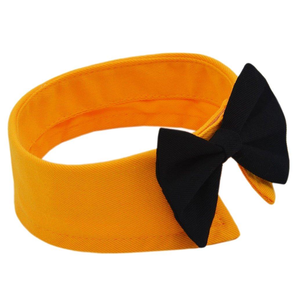 Homyl Hunde-Halsband Katze Welpe Haustiere Krawatte schleife zwei Farbwahl