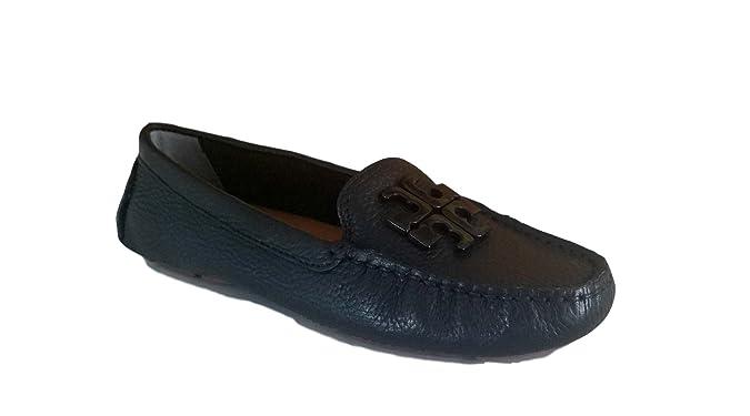 a9ac62d4a Amazon.com | Tory Burch Women's Jolie Loafer Flat Leather Shoes | Shoes