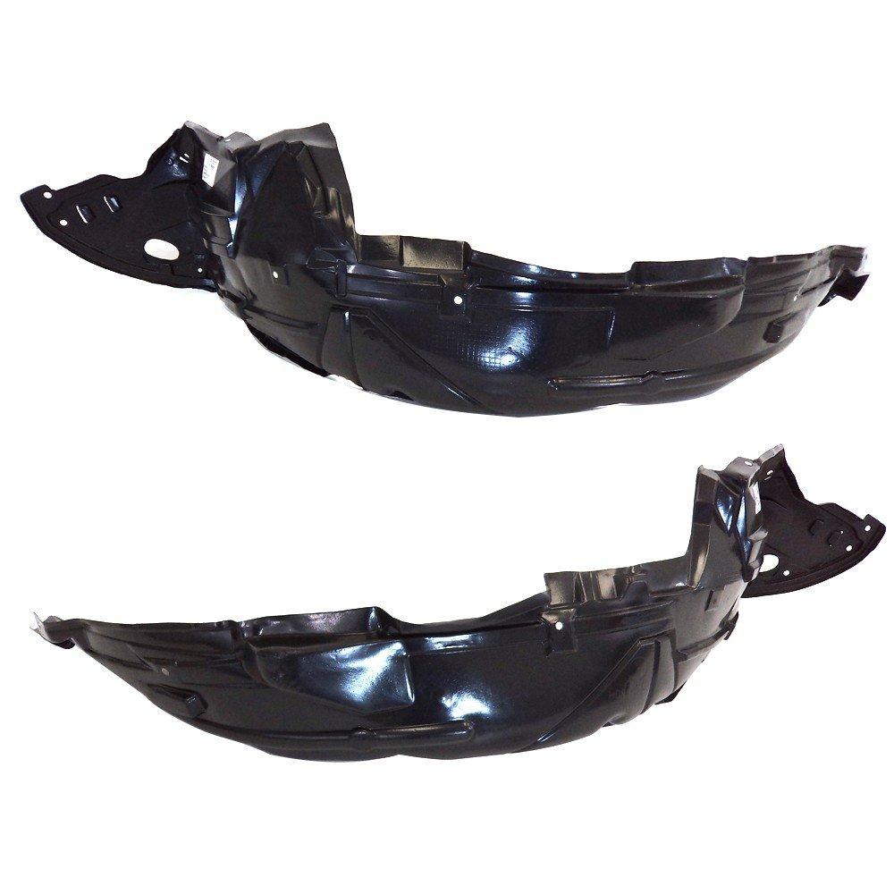 Partomotive For 06-11 Civic Sedan Front Splash Shield Inner Fender Liner Left Right SET PAIR