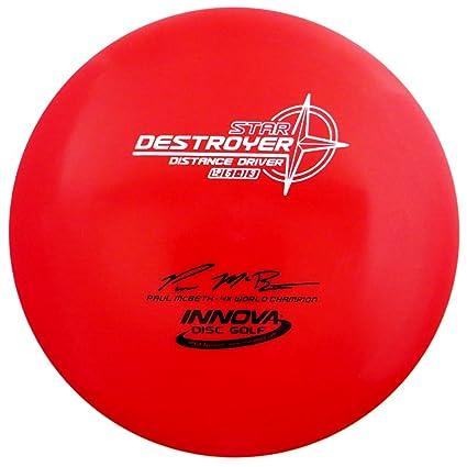 de9f65f9e9698 Amazon.com   Innova Star Destroyer Disc Golf Paul McBeth 4X World ...