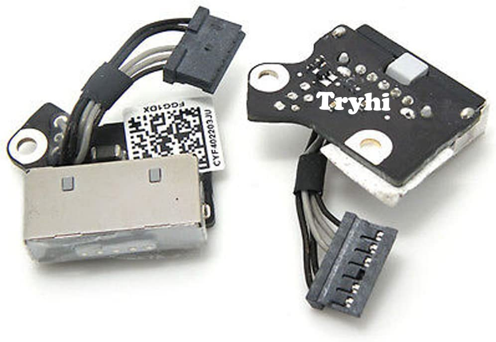 """NEW DC POWER JACK BOARD CABLE MacBook Pro 15/"""" Retina A1398 2012 2013 820-3584-A"""