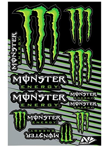 N-Style N30-1045 Universal Sticker Kit - Monster Energy Style 1