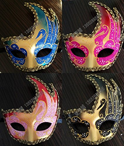 2015 - 2014 Top Fashion Sale Pvc Black Mascaras Realistic Masks Venice Carnival Costume Party Mask High- Grade Colored Drawing (Realistic Masks For Sale)