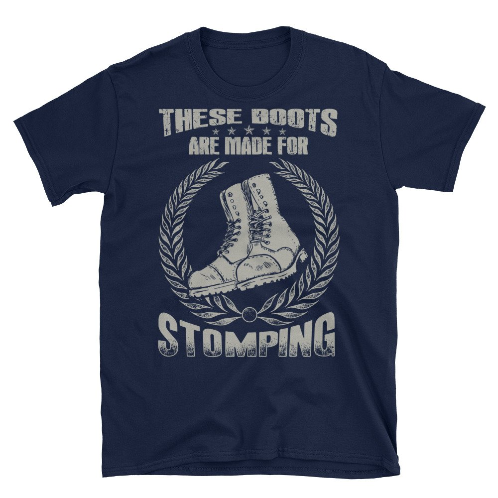 Skinhead These Boots Are Made For Stomping Short-Sleeve Unisex T-Shirt