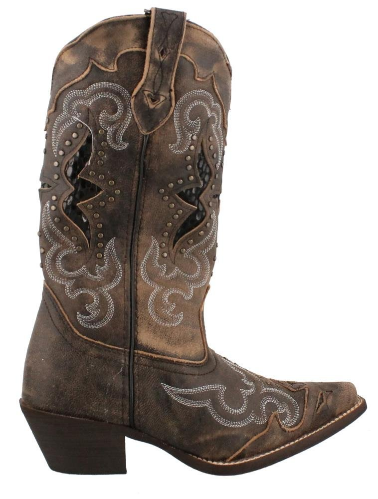 Laredo Women's Lucretia Western Boot B00ICQ63VY Tan 11 B(M) US|Black / Tan B00ICQ63VY 20e54a