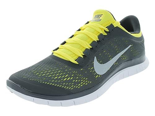 promo code 6b64c 6a2de Nike Men s Free 3.0 V5 Anthracite White Sonic Yellow Running Shoes 9 Men  US  Amazon.ca  Shoes   Handbags