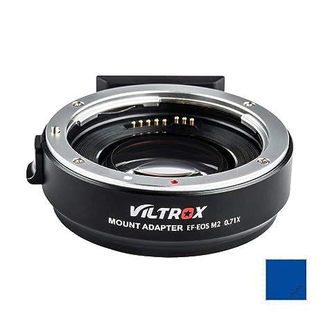 Viltrox EF-EOS M2 - Adaptador de Montura de Lente de Enfoque ...