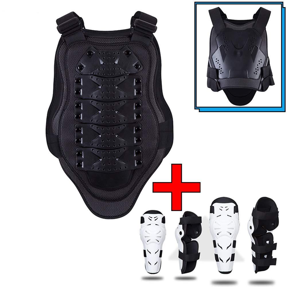TZTED Motocross Brustpanzer Oberkörper Protektor für Reiten Skating Roller Skifahren Snowboard