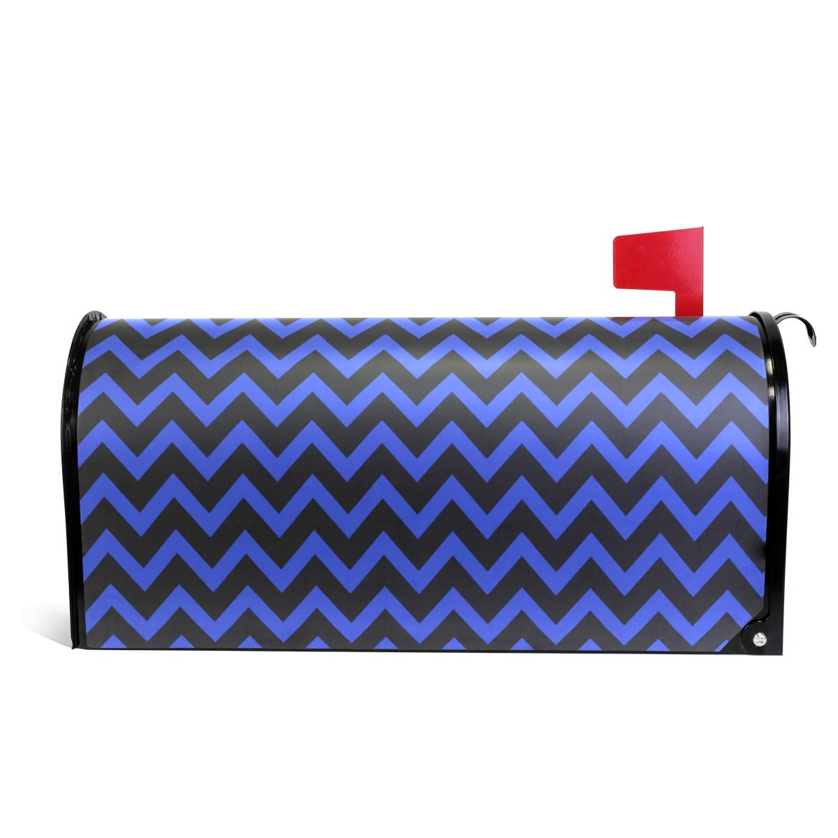 CHENG XIN Mailbox Cover Personalized Chevron Light Magnetic PVC Suitable for US Mailbox