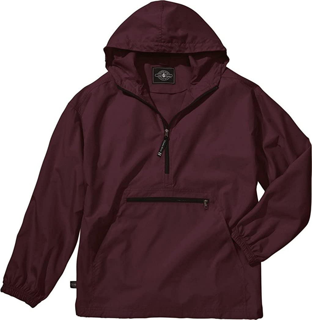 X-Large Maroon Charles River Apparel Unisex Youth Pack-N-Go Pullover