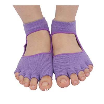 Zinuods womens Yoga socks,barre socks,pilates socks,ballet barres socks,Training socks-2b
