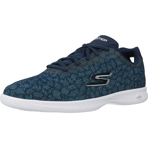 132aa0fb Calzado Deportivo para Mujer, Color Azul, Marca SKECHERS, Modelo Calzado  Deportivo para Mujer SKECHERS GO Step Lite Radiancy Azul: Amazon.es:  Zapatos y ...