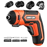 Cordless Rechargeable Screwdriver 5-In-1
