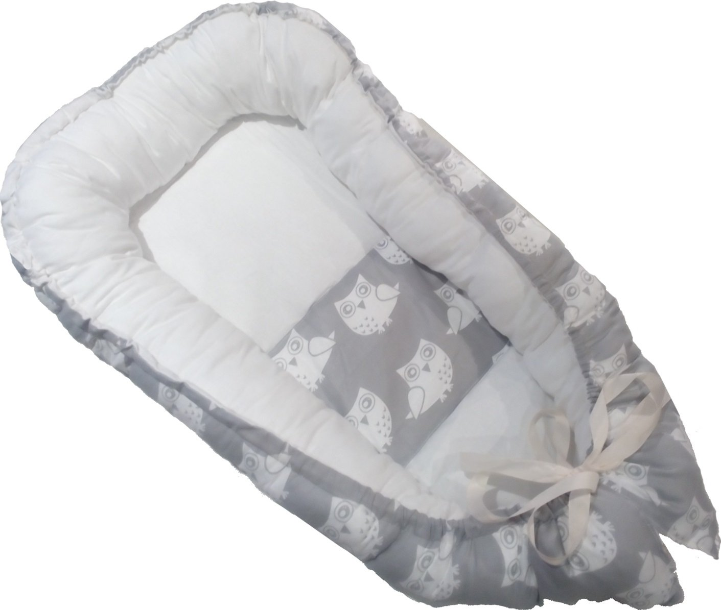 BabeeKeepa Baby Nest Bassinet for Bed - Certified Hypoallergenic & Breathable
