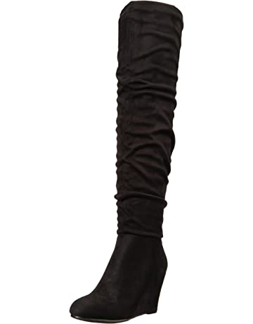 14be5369fb8 Women's Over the Knee Boots | Amazon.com