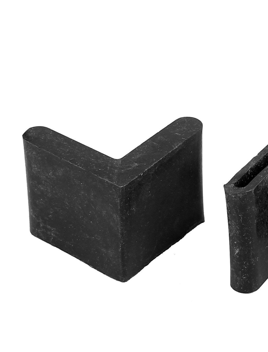 Amazon.com: eDealMax Caucho Triángulo de muebles Protección ...