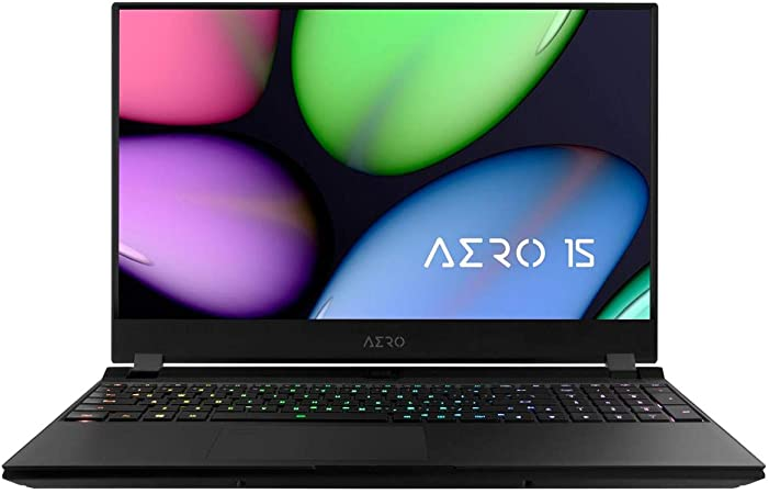 Amazon Com 2020 Gigabyte Aero 15 Kb Thin Light Performance Laptop 15 6 144hz Fhd Ips Display Geforce Rtx 2060 Intel Core I7 10750h 16gb Ddr4 512gb Nvme Ssd Up To 8 5 Hrs Battery Life Computers