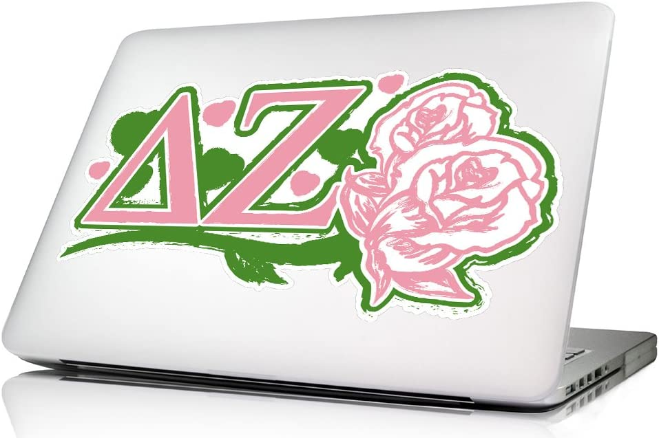 Amazon Com Delta Zeta Laptop Skin Wall Decal Computers Accessories