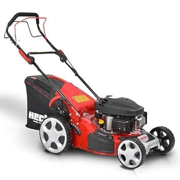 HECHT 543 SW Cortacésped de gasolina 3,5 ps/2,6 Kw de potencia del motor, 43 cm, tracción: Amazon.es: Bricolaje y herramientas