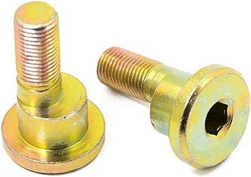 2 tornillos de ajuste partworks para 911//964 Carrera//t eje trasero exc/éntrico//tornillo