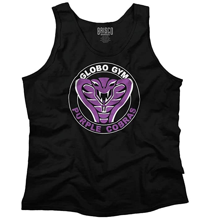 Brisco Brands Globo Gym Dodgeball Funny Gift Cute Cool Purple Cobras Edgy Tank Top Shirt