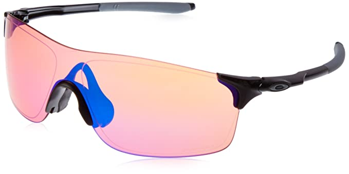 24793c88245d7 Amazon.com  Oakley Mens EV Pitch Sunglasses Black Prizm  Clothing