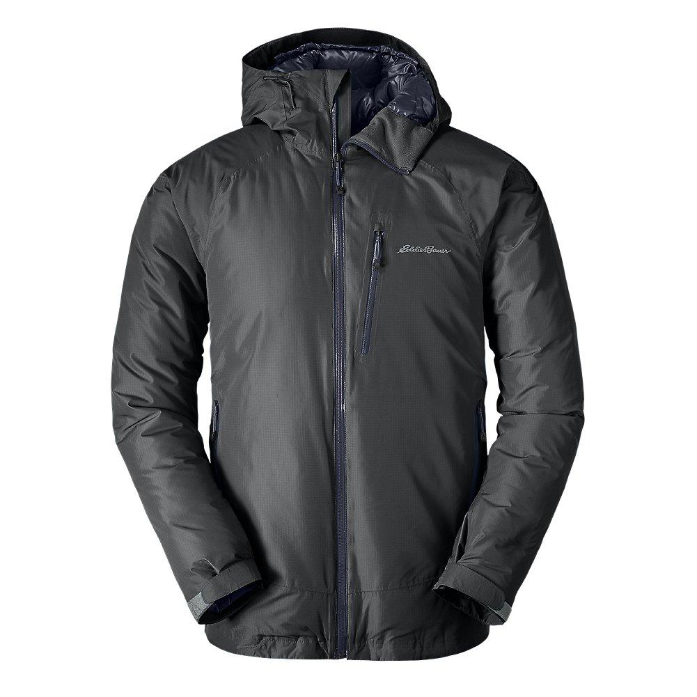 Eddie Bauer Men's BC Downlight StormDown Jacket, Dk Smoke Regular XL by Eddie Bauer