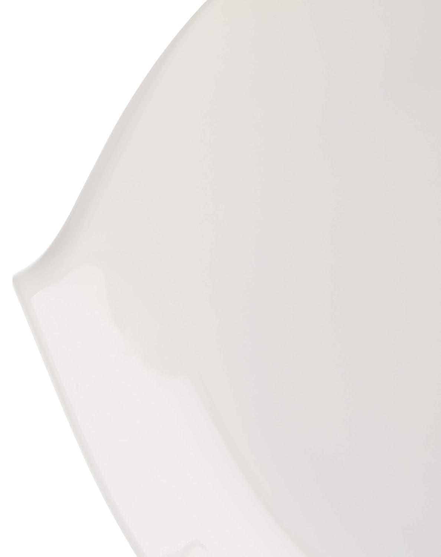 Porcelaine 6/unit/és de Blanc 29/x 29/x 9,8/cm Villeroy /& Boch Flow Assiette
