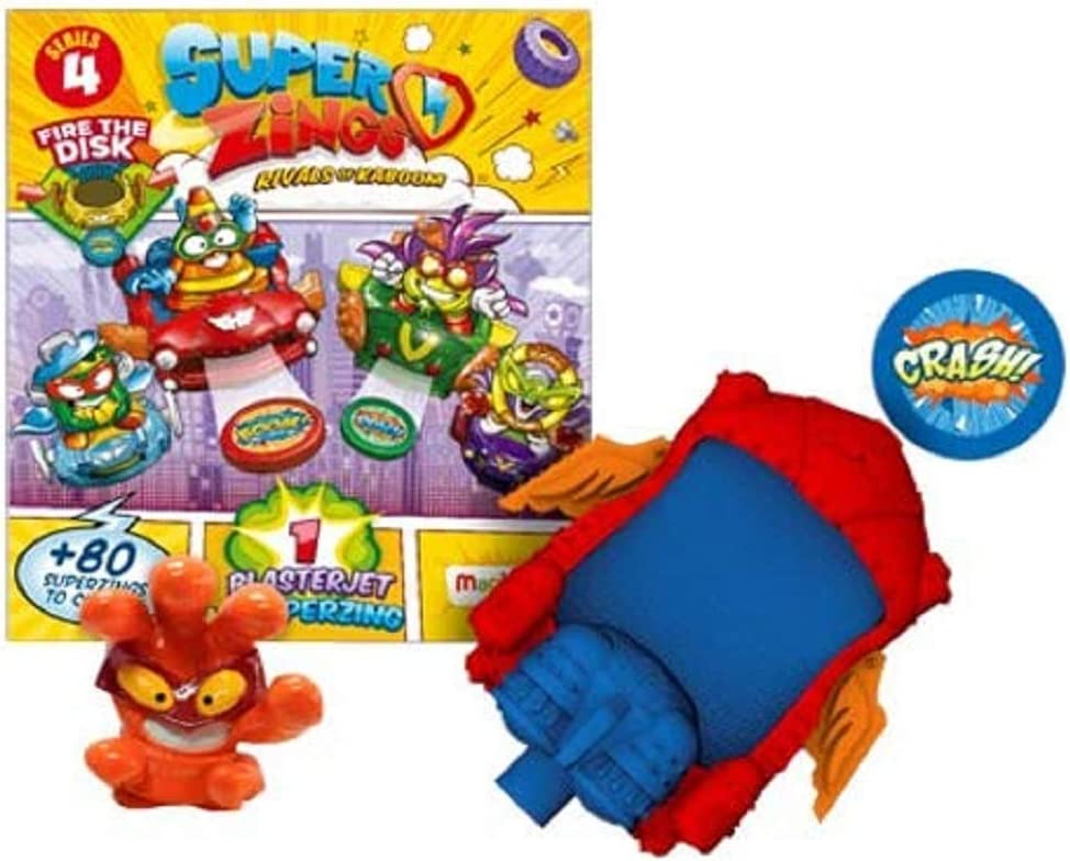SuperZings PSZ4D824IN00 Series 4 Blaster Jet: Amazon.es: Juguetes y juegos