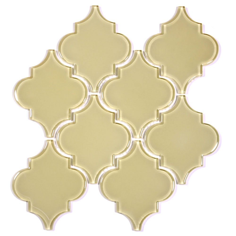 Giorbello G9134 Glass Arabesque Tile, Breaking Dawn by Giorbello