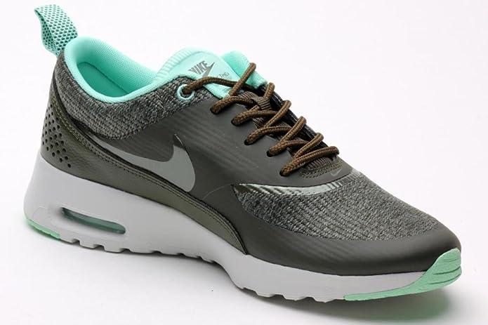 c3088ae3127 Economize Nike Womens Air Max Thea Prm Cargo Khaki Light Ash Grey 616723-301  9  Amazon.ca  Shoes   Handbags