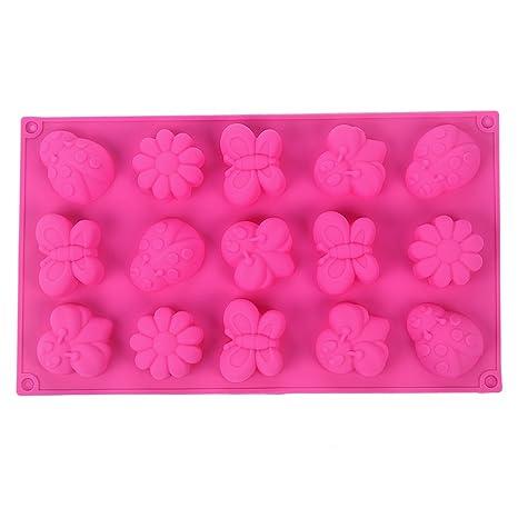 YOKIRIN® Forma del Molde de Silicona Insectos Mariposas de Accesorios para la decoración de la