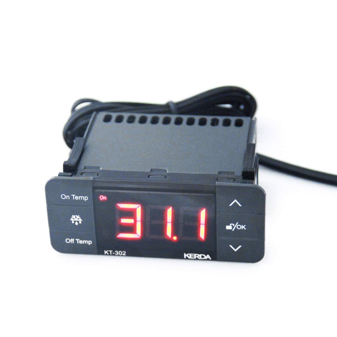 Compra Delicacydex KT-302 Controlador de Temperatura Termostato ...